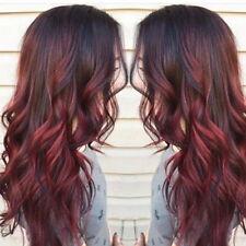 Femme Wigs Gradient Couleur Perruques Bouclés Partie Cosplay Longue Perruque
