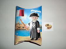 Playmobil Figurine Spéciale CHEVALIER MALTAIS grand maître Édition Rare 5045