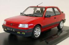 Modellini statici di auto, furgoni e camion in metallo bianco per Peugeot Scala 1:18