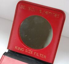 Vintage Benson & Hedges King Size Filter Ladies Gold Case Compact Handbag Mirror