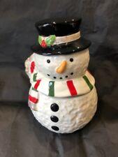 Lenox Jolly Snowman Treat Jar