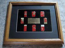 Vintage Coca Cola Pin Set Old Coke Vending Machine Limited Edition