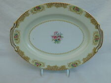 "NORITAKE MYSTERY 203 CHINA OCCUPIED JAPAN 11"" OVAL SERVING PLATTER"