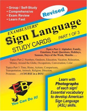 Ace`S Sign Language (1 Of 3) Exambusters Study Cards (Ace`S  (US IMPORT) CD NEW