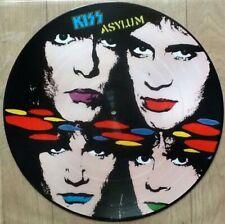KISS .. ASYLUM . ORIGINAL No'd DUTCH PICTURE DISC LP . PIC8260991 PHONOGRAM 1986