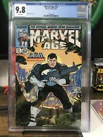Marvel Age 51 Cgc 9.8 Punisher Cover 1987 NM+