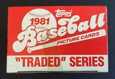 1981 Topps Traded Factory Sealed Set Case Fresh Tim Raines Rc Mint