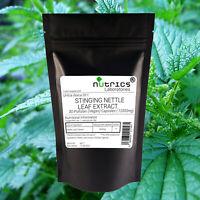 Nutrics® 12,000mg STINGING NETTLE LEAF EXTRACT 100% Pure Vegan Capsules