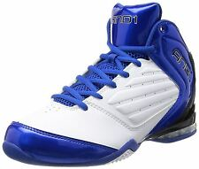 And1 MASTER 2 MID Mens White Royal Black Comfort Basketball Shoes