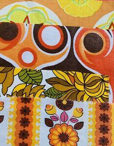 Vintage  Fabrics 1950s Scrap / Bundle Patchwork / Craft/ Quilting / #1