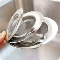 Kitchen Stainless Steel Mesh Sink Strainer Plug Drain Stopper Filter Disposer
