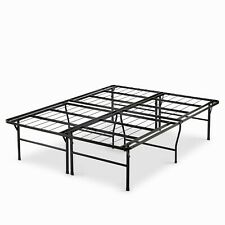 Mainstays 18 inch Foldable Steel Bed Frame, Quenn - Black