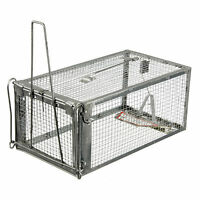 Rodent Animal Mouse Mice Rat Humane Live Trap Control Catch Bait Hamster Cage ED