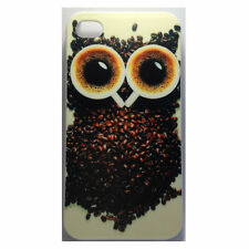 Owl Coffee Bean  iPhone 4 / 4s Case for Apple