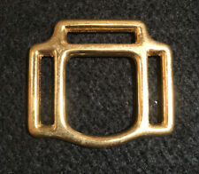 "Halter Square, 3 Way - 1 1/8"" - Solid Brass - 16 pieces (B134)"