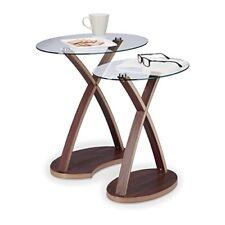 Relaxdays 10021248 Set tavolini da salotto sovrapponibili Marrone ...
