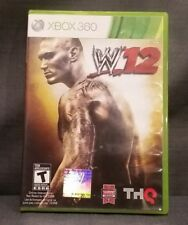 WWE '12 (Microsoft Xbox 360, 2011) Video Game