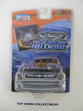 Joy Ride Boyd Coddington American Hotrod 1940 Ford Woody 1:64 Die Cast