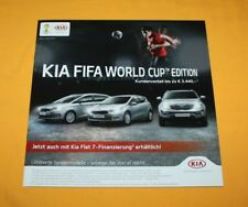 Kia World Cup Edition 2014 Prospekt Brochure Depliant Prospetto Catalog Folder