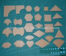 54 Pcs Mixed Quilt Templates Sewing Tool For Patchwork Quilter Styling Tools S2
