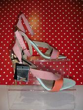 Zara High Heel (3-4.5 in.) Faux Suede Upper Shoes for Women