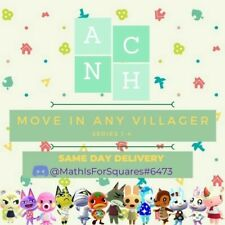 MOVE IN ANY Animal Crossing Villager (BOXES)- SERIES 1,2,3,4 - READ DESCRIPTION
