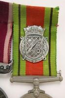 WW2 RNPS HARRY TATE NAVY BADGE ROYAL NAVY PATROL SERVICE SEW ON 32mm RIBBON COPY