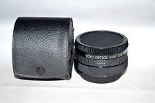 Toyo Optics Auto Tele-Converter 2X for Canon FD w Caps / Case Made Japan (LN-18)