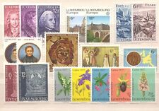 LU - LUXEMBOURG 1977 complete year set MNH