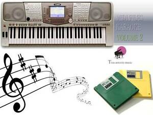 MIDI File Karaoke Floppy Disk Set for PSR 2000 & PSR 2100 NEW Volume 2