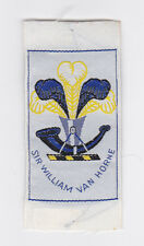 SCOUTS OF CANADA -  CANADIAN SCOUT QUEBEC SIR WILLIAM VAN HORNE DISTRICT Patch