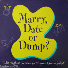 Marry, Date or Dump? Great Party Game Bachelorette, Slumber New Free Ship