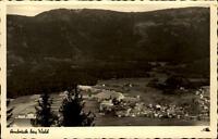 Arnbruck bayerischer Wald Postkarte ~1940/50 Gesamtansicht mit Bergen ungelaufen