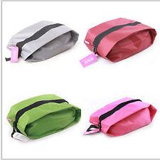 Bolso grande de almacenamiento de calzado Impermeable Bolso con cremallera Organizador de deportes viajes bolsa de polvo