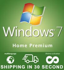 Windows 7 Home Premium - 32/64 Bit - Key OEM Original - Multilingual