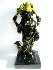"Shri Sri Shani Shaani Dev Solid Resin Quality7.5"" Statue~SHANIS NEGATIVE EFFECTS"