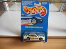 Hotwheels Holden Commodore in White on Blister