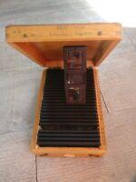 Rare Verascope F 40 stéréoscope 25 vues couleurs Italie , Naples, Palerme,1959