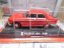 PEUGEOT 404 limousine 1960 rot red Sonderpreis IXO Altaya 1:43