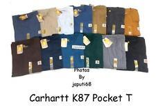Carhartt K87 Workwear Pocket T-Shirt  [K1-87]  DISCONTINUED SALE!!!
