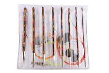 KnitPro Symfonie Wood Interchangeable Tunisian Crochet Hook Set