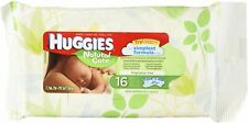 Huggies Natural Care Unscented Baby Travel Wipes 16 ct. (8 Pack)