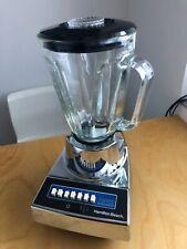 HAMILTON BEACH 7 Speed Mixer Standmixer Super Blendmaster Glasmix 1G600CK