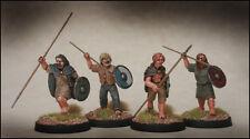 Medioevo irlandesi GUERRIERI footsore Miniatures SAGA 03dai102