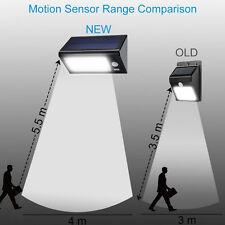 Solar Power PIR Motion Sensor 32 LED Wall Light Outdoor Waterproof Garden Lamp
