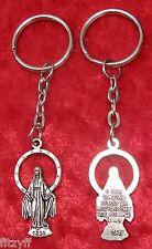 Holy Mary Mother of Jesus Keyring Religious Key Ring Gift Souvenir Catholic