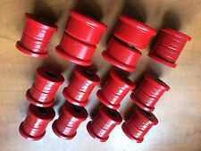 Nissan Pulsar GTi R Rear Bush Set. Special Offer - Poly - RED