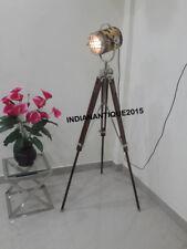 Designer Theater  Headlight Tripod Floor Lamp Hollywood Style For New Home Decor