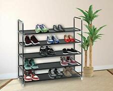 5/10 Tier Shoe Rack Wall Tower Cabinet Storage Organizer Home Holder Shelf