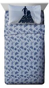 Disney Star Wars 3Piece Twin Sheet Set Bedding Fitted & Flat Sheet & Pillow Case